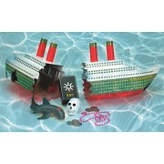 """18"""" Water Sports R.M.S. Gigantic Swimming Pool Wreck With Sunken Treasure Dive Game"""