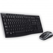 Kit Teclado Y Mouse Inalámbrico Logitech Mk270 Usb 2.4 Ghz