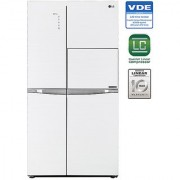 LG 675 L GC-C247UGUV Side In Side SidsE Side Refrigerator - ARIA WHITE