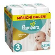 Pampers pelene Premium Care 3 Midi, 204 kom