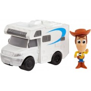 Mattel Toy Story 4. Personaggio Mini Woody con Camper
