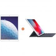 Apple iPad Air (2019) 64 GB Wifi Zilver + Smart Keyboard