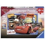 Ravensburger Cars Puzzle 2x24 pezzi (07819)