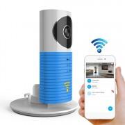 Licht sensor automatisch inschakelen intelligente Home draadloze WiFi IP-camera ondersteuning video & snapshot & infrarood detectie (blauw)