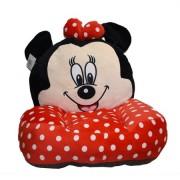 Fotoliu din plus Minnie Mouse, cu buline