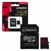 Kingston 64 GB microSDHC SDXC V30 / U3 / A1