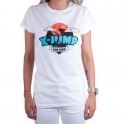 Trenýrkárna Dámské tričko X-jump bílé L