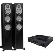 Pachete PROMO STEREO - Monitor Audio - Silver 300 + Cambridge Audio Azur 851A White