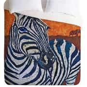 DENY Designs Elizabeth St Hilaire Nelson Elephant Lightweight Duvet Cover