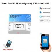 Smart Sonoff RF - Inteligentný WiFi spínač + RF