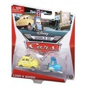 Disney Pixar Cars, Radiator Springs Die-Cast Vehicle, Luigi & Guido #3,4/15, 1:55 Scale