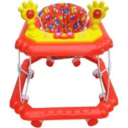 Oh Baby Baby Square Shape Pilastic Boby Red Color Music With Light Walker For Your Kids YAR-NIE-SE-W-89