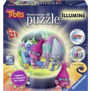 PUZZLE 3D LUMINOS TROLLS 72 PIESE Ravensburger