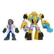Playskool Heroes Transformers Rescue Bots Bumblebee and Doc Greene Figure Pack