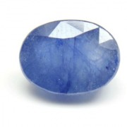 5 Ratti 4.6 Ct Oval Shape Natural Blue Sapphire Neelam Loose Gemstone For Ring Pendant