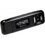Transcend MP330 MP3-speler 8 GB Zwart FM-radio, Bevestigingsclip