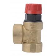 Supapa siguranta pentru instalatie C.O. cu apa calda 3/4x3/4 2.5 BAR