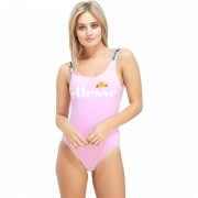 Ellesse Tape Costume Intero Donna - Only at JD, Rosa