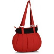 Home Heart College Girl Red Tote