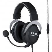 Геймърски слушалки HyperX, Cloud Silver, Микрофон, Черен KIN-HEAD-HX-HSCL-SR/NA