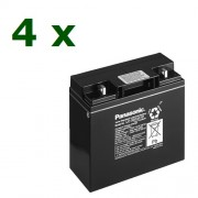 Panasonic 4x12V 17Ah (KIT11-2)
