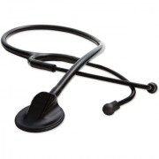 Thermocare Black Matte For Doctor And Student Acoustic Stethoscope