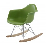 Charles Eames schommelstoel RAR Junior lichtgroen