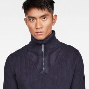 G-Star RAW Omohundro Zip Turtle Knit - L