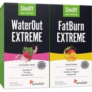 Sensilab Express schlank 15-Tage Paket Abnehmpaket zur Beseitigung von Wassereinlagerungen und Fettverbrennung WaterOut + FatBurn Sensilab