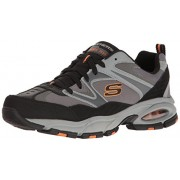 Skechers Sport Men's Vigor Air Oxford, Charcoal/Gray, 9 M US