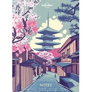 Reisdagboek Notebook with Illustrated Cover Asia | Lonely Planet