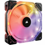 Вентилатор за кутия Corsair HD120 RGB Individually Addressable LED, 3-Pack Static Pressure Fan with Controller, CO-9050067-WW