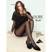 Fiore Supernatural - 20 denier mock fishnet tights with diamond pattern