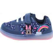 Pantofi sport cu luminite Minnie Mouse model 6365 navy 24-32 EU