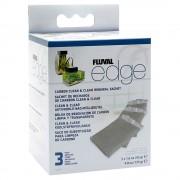 Filtros de carbón activo Fluval Edge - 1 paquete de 3