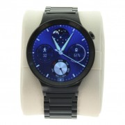 Huawei Watch Active mit Gliederarmband Schwarz