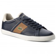 Сникърси LACOSTE - Fairlead 317 1 Cam 7-35CAM00384C1 Cam Navy/Light Brown