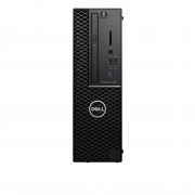 UC Dell Precision 3430 SFF - Xeon E-2124G - 16GB - 256GB SSD - Windows 10 Pro - UHD 630 - DVD RW - Clavier+Souris - vPro - Garantie 1 an Prosupport J+1