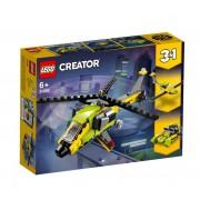 Set de constructie LEGO Creator Aventura cu elicopterul