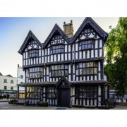 Puzzle Grafika - Black & White House Museum in Hereford, 300 piese (02921)
