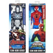 Titans Marvel Titan Hero Series Avengers War Machine VS Spider-man Sinister 6 Action Figure Avengers Set Moveable Series