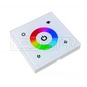 Dotykový RF ovládač RGB pásika, nástenný