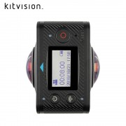 Kitvision - Immerse 360 Duo Action Kamera WiFi 1080p HD 5MP VR Panorama (KVIM360BK)