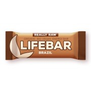 Lifebar baton cu nuci braziliene raw bio 47g
