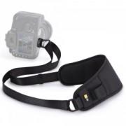 """Curea camera foto DSLR Case Logic, ajustabila, captusita cu plasa, nylon, negru """"DCS101""""/3201647"""