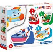 Clementoni® Puzzle »My frist Puzzles 2/3/4/5 Teile - Fahrzeuge«, Puzzleteile