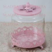 Bomboniera Roz Pentru Candy Bar Botez Fetite