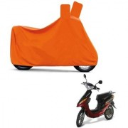 Kaaz Full Orange Two Wheeler Cover For Yo Electron