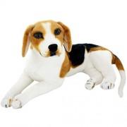 "Jesonn Giant Realistic Stuffed Animals Beagle Dog Plush Toys,17.7"" or 45CM,1PC"