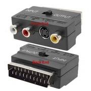 SCART - RCA/SVideo adapter